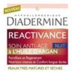 Diadermine -   reactivance produit pour visage pot dans boite carton soin anti age nuit a l'huile d'argan peau tres mature et seche etagere  3178040675223