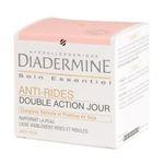 Diadermine -   soin essentiel produit pour visage pot dans boite carton anti rides double action tout type etagere  3178044041239