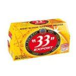 33 export -   export biere bouteille verre  10ct 4.8 degres blonde  3184520000133