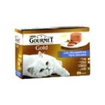 Gourmet -   gourmet gold les mousselines nourriture pour chat boite tir'vite poulet ou saumon ou rognon ou lapin  12ct tous chats mousseline  3222270550673