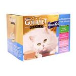 Gourmet -   gourmet gold les mousselines nourriture pour chat boite tir'vite lapin ou boeuf ou veau ou agneau  24ct tous chats mousseline  3222270889759