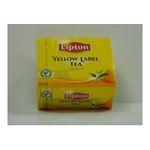 Lipton -  yellow the noir sachets individuels dans boite carton 50 sachets sachet nu yellow  3228881004611