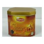 Lipton -  the noir boite metal orange vrac orange jaipur  3228881007353