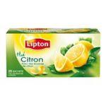 Lipton -  the noir sachets individuels dans boite carton citron 25 sachets sachet  3228881015433