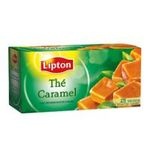 Lipton -  the noir sachets individuels dans boite carton caramel 25 sachets sachet  3228881017741