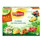 Lipton -  the noir coffret multi parfums 60 sachets sachet assortis  3228881022776