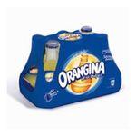 Orangina -  soft drinks gazeux bouteille verre orange standard  8ct pas de cafeine boisson aux fruits gazeuse etagere  3249760013319