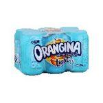 Orangina -  light soft drinks gazeux boite metal orange standard  6ct light pas de cafeine boisson aux fruits gazeuse etagere  3249760019625