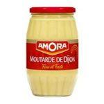Amora -  moutarde bocal verre sans decor forte vinaigre dijon  3250541912592
