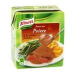 Knorr -  sauce brique / briquette a rechauffer poivre  3250541913636