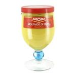 Amora -  moutarde verre a pied sans decor forte dijon  3250546100086