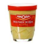 Amora -  moutarde verre lotus a eau sans decor forte vinaigre dijon  3250547004185