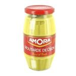 Amora -   moutarde bocal verre sans decor forte dijon  3250547017178