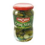 Amora -  croq vert cornichon bocal verre vinaigre regular / pasteurise extra fin  3250547051172