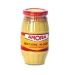 Amora -   moutarde bocal verre sans decor mi - forte dijon  3250547851109