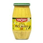 Amora -  sauce picallili bocal verre sans decor sans origine  3250548387102