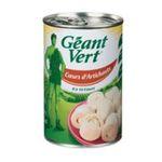 Géant vert -   vert artichaut boite de conserve coeur au naturel artichaut  3254473410003