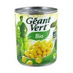 Géant vert -   vert mais boite de conserve biologique ab au naturel grains jaune  3254474008483