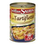 William Saurin -   saurin plat a base de pomme de terre boite tir'vite pomme de terre creme fraiche et lardon tartiflette  3261055740601