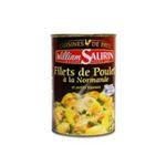 William Saurin -   saurin cuisine de pays filet de poulet a la normande boite de conserve  3261055845108