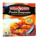 William Saurin -   saurin poulet basquaise barquette microondable  3261055851109