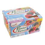 Yoplait - Panier de Yoplait 0% - Yaourt mûre framboise  3329770038516