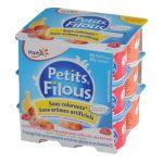Yoplait - Petits filous - Yaourt Fraise Framboise Pêche Banane 3329770043428