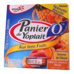 Yoplait - Panier de Yoplait - Yaourt Ananas Abricot Pêche 3329770044456