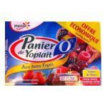 Yoplait - Panier de Yoplait 0% - Yaourt Cerise Fraise Framboise Mûre 3329770044548