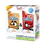 Yoplait - Frulos Slurps - Yaourt fraise abricot 3329770046887