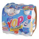 Yoplait - P'tit Yop - Yaourt à boire Vanille Fraise Framboise 3329770048546