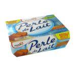 Yoplait - Perle de Lait  - Spécialité laitière sucrée, aromatisée - Saveur caramel 3329771078528