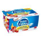 Yoplait - Petits Filous - Fromage frais Fraise Framboise Pêche Banane 3329772617733