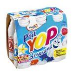 Yoplait - P'tit Yop - Yaourt à Boire Fraise Vanille Framboise 3329778162732