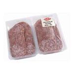 Aoste - Jean Floc'h | Saucisson sec pur porc tranché | Colis de 4 barquettes de 1 kg - Le kg 3449842458001