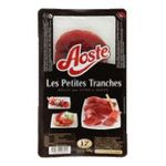 Aoste - AOSTE |  les petites tranches jambon cru tranche standard  jambon d'aoste petite tranche  3449860408569