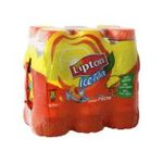 Lipton -  ice tea boisson au the plate bouteille plastique the glace a la peche  6ct etagere  3502110003690