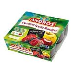 Andros - Dessert fruitier - Compote pomme fruits rouges  3608580707141
