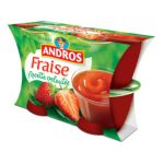 Andros -  Dessert fruitier -  Compote Fraises recette veloutée 3608580732983