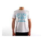 Eceelot -  Bullrot Man T-shirt - Brt7/White/Turquoise/Xl 3662390005491
