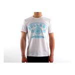 Eceelot -  Bullrot Man T-shirt - Brt7/White/Turquoise/Xxl 3662390005507