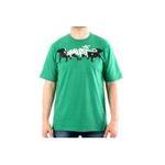 Eceelot -  Bullrot Man T-shirt - Brs144/Vert/S 3662390014950
