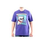 Eceelot -  Bullrot Man T-shirt - Brs2127/Violet/Xxl 3662390015797