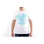 Eceelot -  Bullrot Man T-shirt - Brt6/Blanc/Turquoise/Xxl 3662390015827