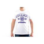 Eceelot -  Bullrot Man T-shirt - Brt7/Blanc/Violet/Xxl 3662390015889