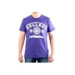 Eceelot -  Bullrot Man T-shirt - Brt7/Violet/Blanc/M 3662390016046