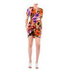 Eceelot -  Fifilles De Paris Woman Dress - Caramel/Orange/Violet/3 3662390018262
