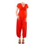 Eceelot -  Fifilles De Paris Woman Jumpsuit - Elisette/Rouge/U 3662390018477