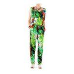 Eceelot -  Fifilles De Paris Woman Jumpsuit - Milal/Feuillage/U 3662390019023