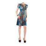 Eceelot -  Fifilles De Paris Woman Dress - Perle/Leopardbleu/1 3662390019320